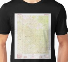 USGS TOPO Map California CA Bonita Meadows 299985 1987 24000 geo Unisex T-Shirt
