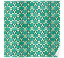 Watercolor Lovely Pattern Poster