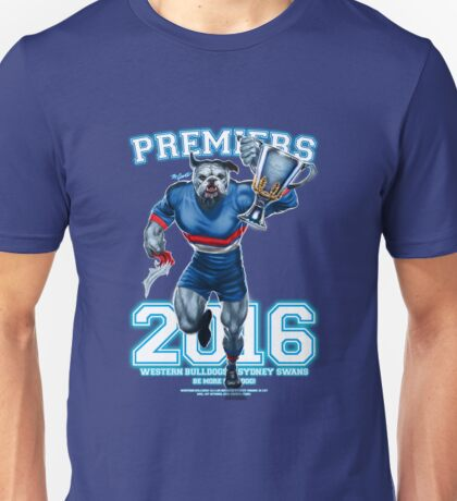 'The Mighty Premiers From The West' 2016 Print By Grange Wallis Unisex T-Shirt