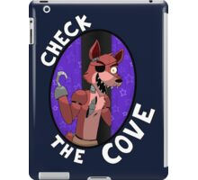 Foxy- Check the Cove iPad Case/Skin