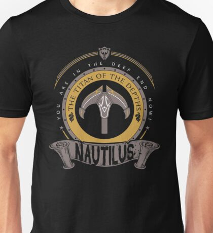 Nautilus - The Titan of the Depths Unisex T-Shirt