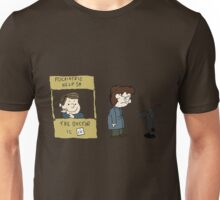 THE DOCTOR IS IN - Hannibal & Peanuts Crossover Art Unisex T-Shirt