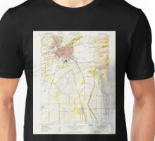 USGS TOPO Map California CA Chico 289170 1950 24000 geo Unisex T-Shirt