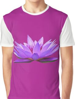 Water Lily Graphic T-Shirt