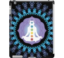 Young woman practicing meditation 10 iPad Case/Skin