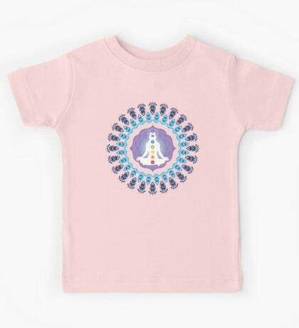 Young woman practicing meditation 10 Kids Tee