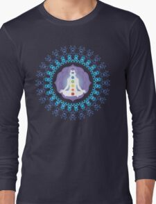 Young woman practicing meditation 10 T-Shirt
