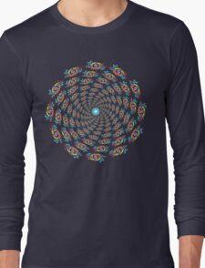 Psychedelic eyes mandala 15 Long Sleeve T-Shirt