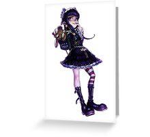Goth Annie Greeting Card