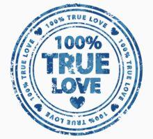 100% True Love Pink St. Valentine's Day Stamp Kids Clothes
