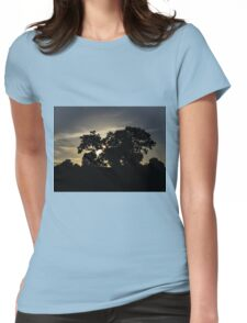nature shadow Womens Fitted T-Shirt
