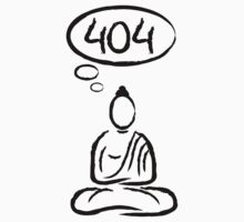Buddha meditation 404 Kids Clothes