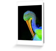 Another Pelican Partygoer Greeting Card