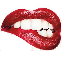 Lips. Photographic Print