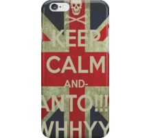 keep calm Ianto iPhone Case/Skin