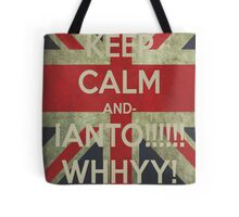 keep calm Ianto Tote Bag
