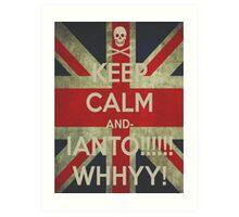 keep calm Ianto Art Print