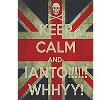 keep calm Ianto Photographic Print