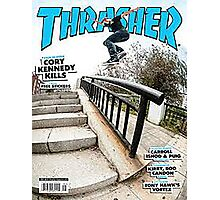 Old School Trasher Magazine Cover 2 Photographic Print