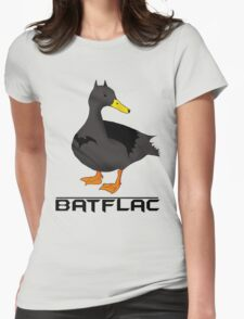Batflac Womens Fitted T-Shirt