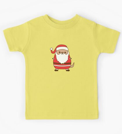 Cute Christmas Santa Pupsheen Kids Tee