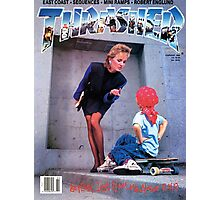 Old School Trasher Magazine Cover 3 Photographic Print