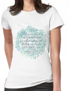 Matthew 6:33 Womens Fitted T-Shirt