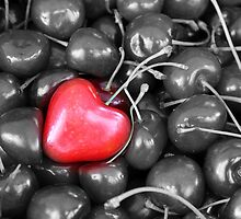 cherries with heart love by spetenfia
