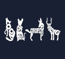 Moony, Wormtail, Padfoot & Prongs 2 Kids Tee