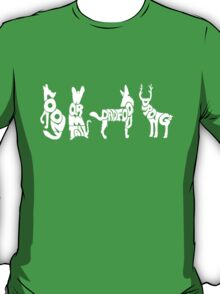 Moony, Wormtail, Padfoot & Prongs 2 T-Shirt