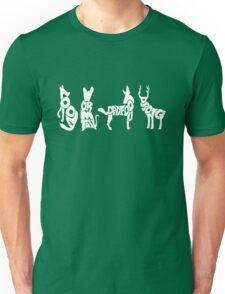 Moony, Wormtail, Padfoot & Prongs 2 Unisex T-Shirt