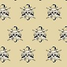Bad 2 The Bones (Pattern 5) by Adamzworld