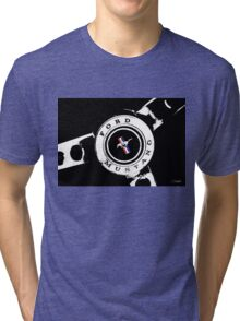 Classic Mustang, (Scroll down to view my other work) Tri-blend T-Shirt