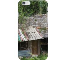 woodshed in the mountains iPhone Case/Skin