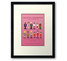 The Royal Pixelbaums Framed Print