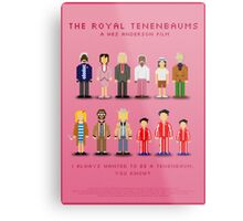 The Royal Pixelbaums Metal Print
