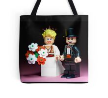 Lego Bride and Groom ( with top hat ) Tote Bag