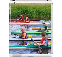 Burton Canoe Race, The Start iPad Case/Skin