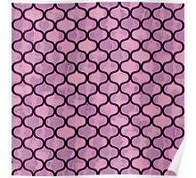 Watercolor Lovely Pattern VII Poster