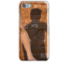 David in shadow iPhone Case/Skin
