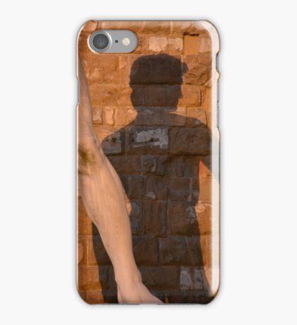 David in shadow iPhone Case/Skin