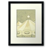 rides in the park Framed Print