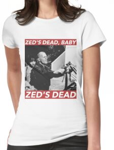 ZED'S DEAD Womens Fitted T-Shirt