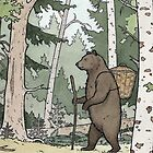 Bear in the Woods by ChristmasPress