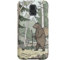 Bear in the Woods Samsung Galaxy Case/Skin