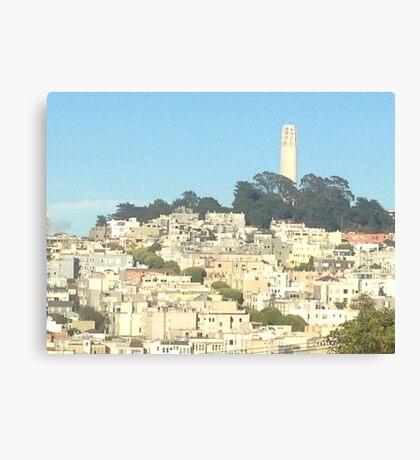 Coit Tower, San Francisco, CA Canvas Print