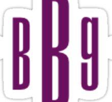 BBG Sticker Purple Sticker