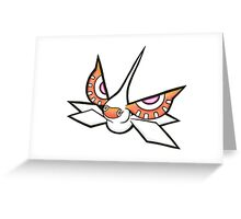 Masquerain Greeting Card