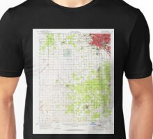 USGS TOPO Map California CA Fresno 297513 1963 62500 geo Unisex T-Shirt