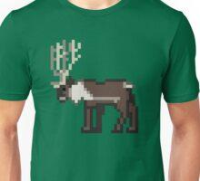 Reindeer Pixel Unisex T-Shirt